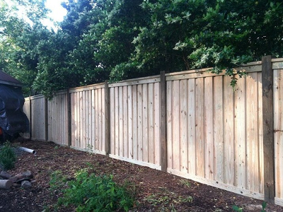 Smithfield wood fence